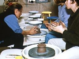 Making Clay Coffee Pots